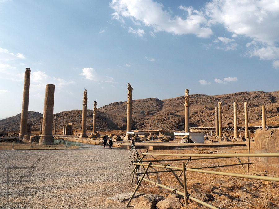 Kolumny w Persepolis