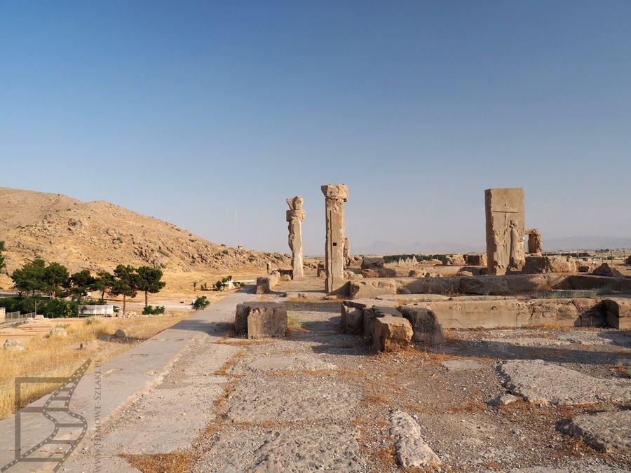 Pozostałości dawnej stolicy Persji