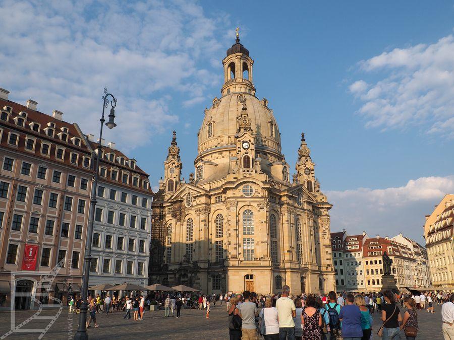 Kościół Mariacki w Dreźnie to symbol miasta i nalotów dywanowych
