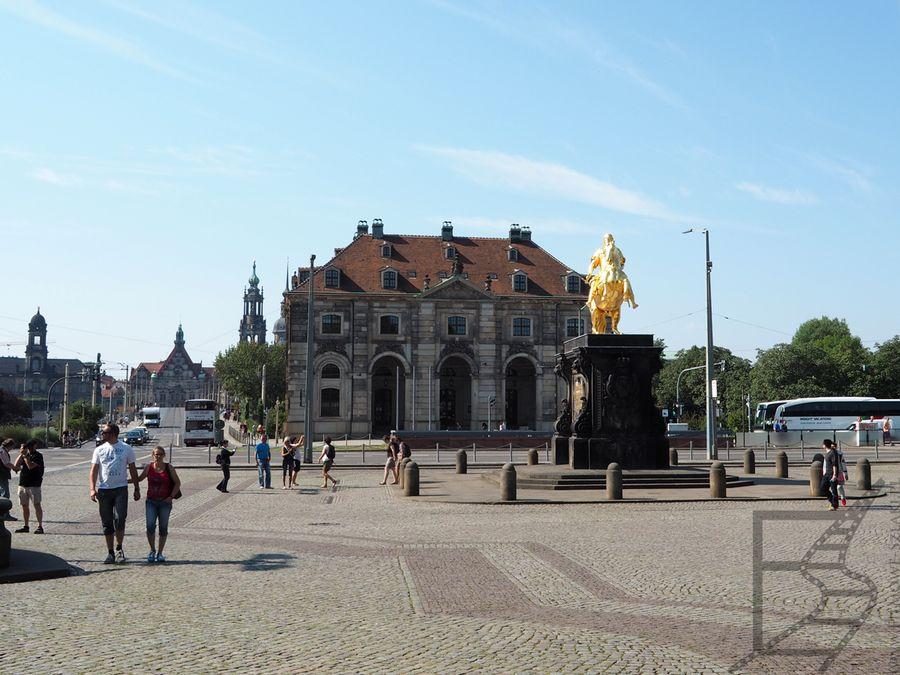 Drezno i pomnik króla Augusta II Mocnego