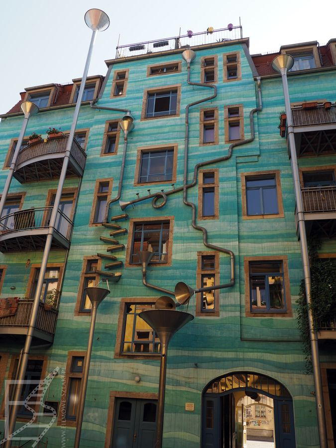 Grający dom (Drezno - Florencja Północy)