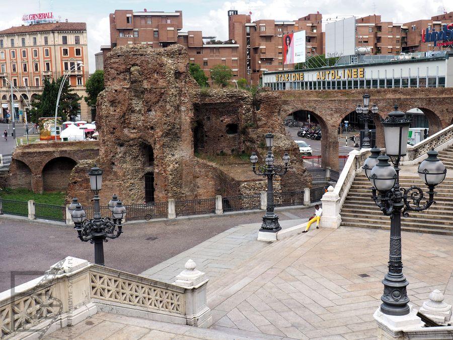 Pozostałości rzymskie w Bolonii