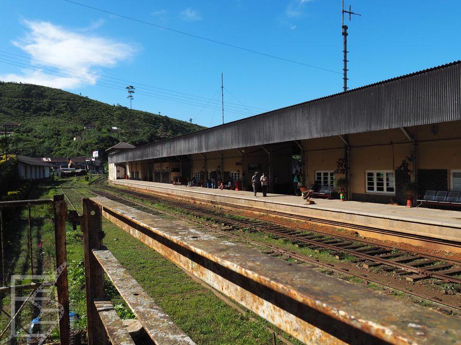 Dworzec kolejowy w Nuwara Elija