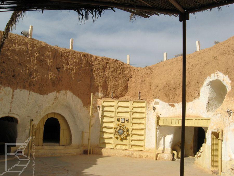 Widok na dziedziniec Sidi Driss