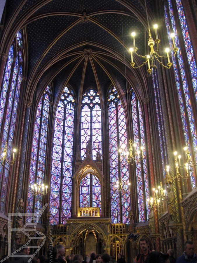 Witraże w świętej kaplicy (Paryż)