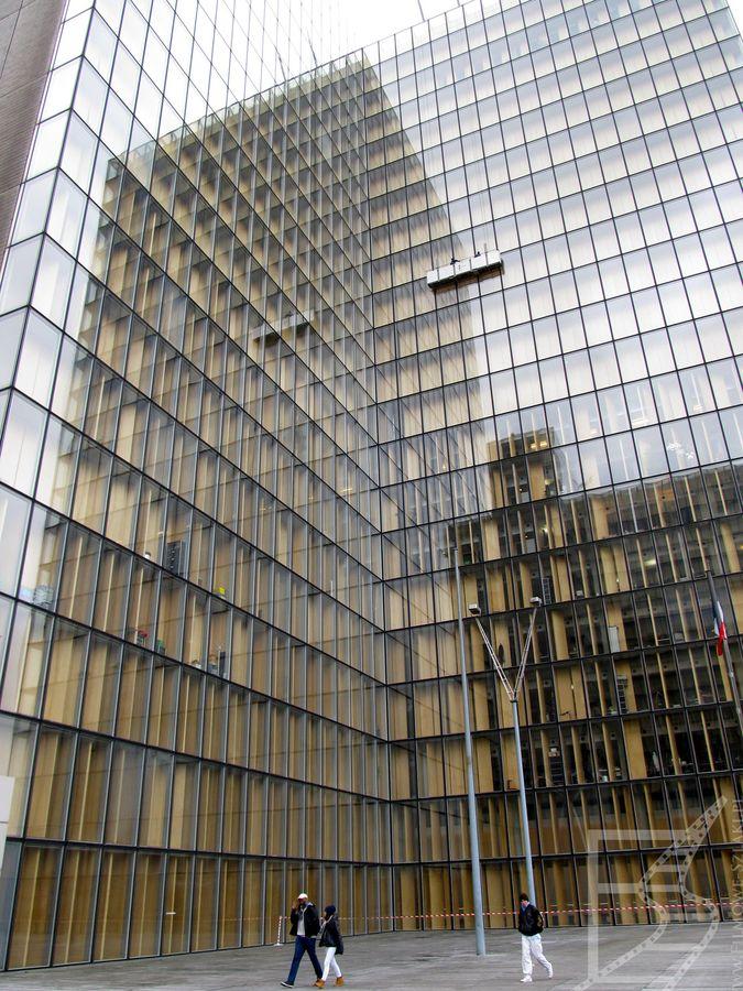 Site François-Mitterrand czyli Biblioteka Narodowa