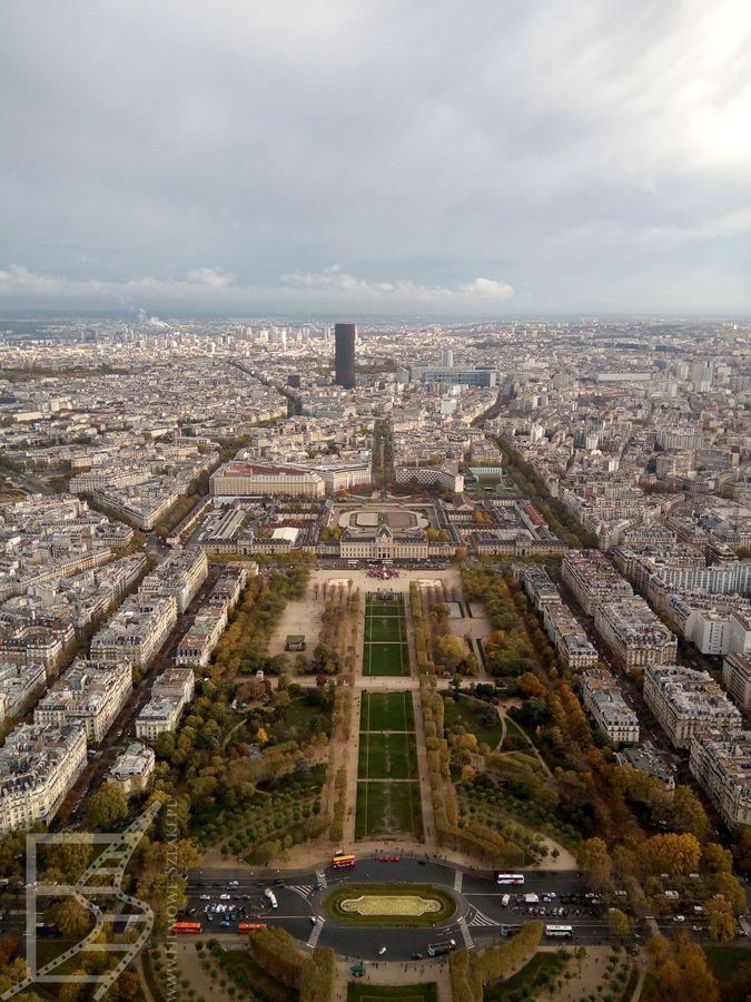 Pola Marsowe, Pałac Inwalidów i Montparnasse