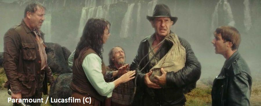 """""""Indiana Jones i Królestwo Kryształowej Czaszki"""" oraz wodospad Iguazu"""