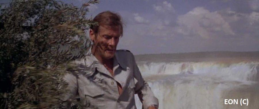 """""""Moonraker"""", czyli James przed wodospadem Iguazu"""