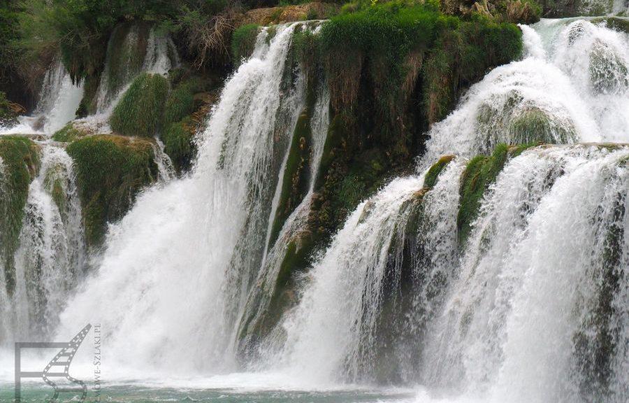 Wodospad na rzece Krka