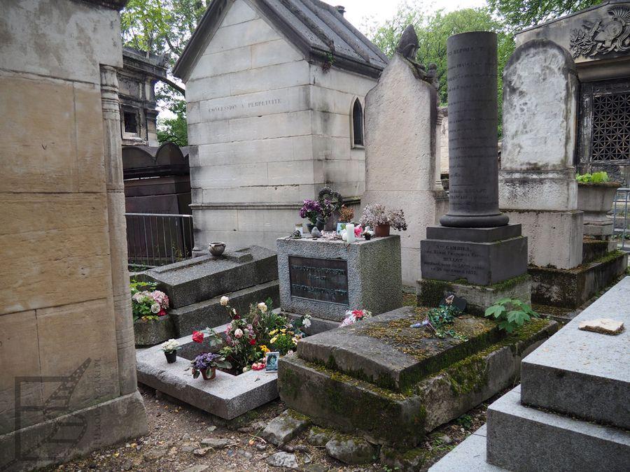 Grób Jima Morrisona, Père-Lachaise (Paryż)