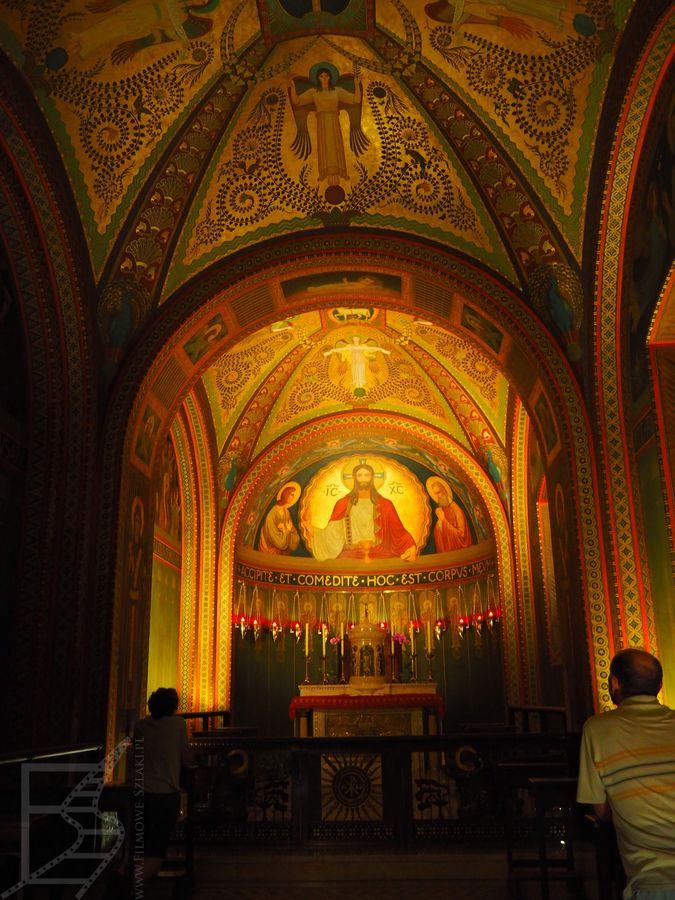 Wnętrza klasztoru św. Benedykta (Sao Paulo, Brazylia)