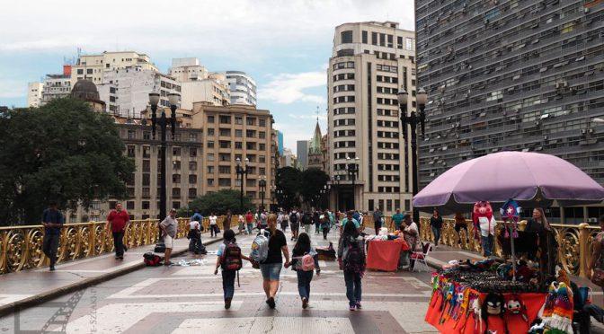 São Paulo, neogotyk i art deco w centrum City