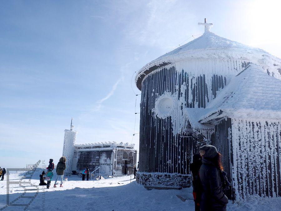 Kaplica i poczta czeska (Śnieżka)