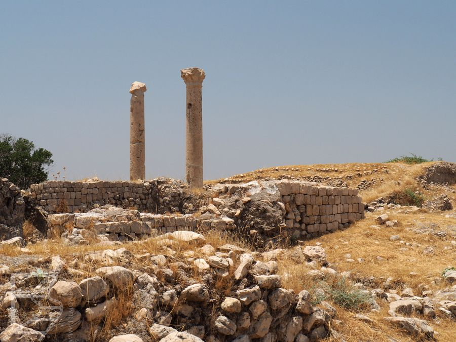 Rzymskie kolumny w Biszapur