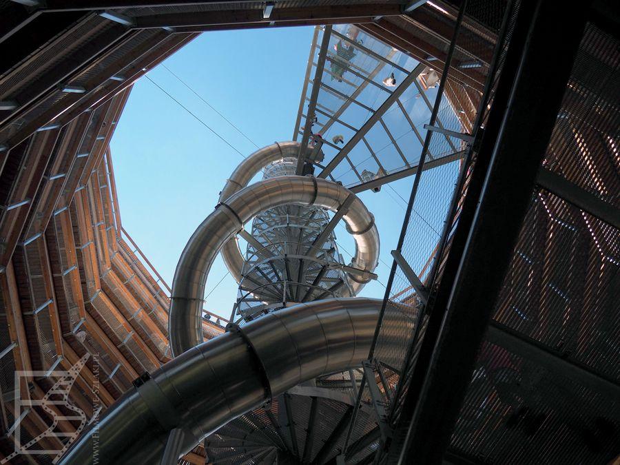 Wieża widokowa od środka