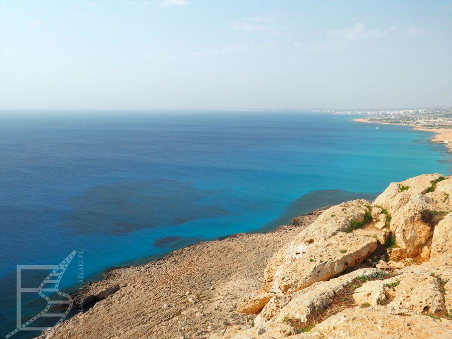 Klify Kawo Greko (Cape Greco) na Cyprze