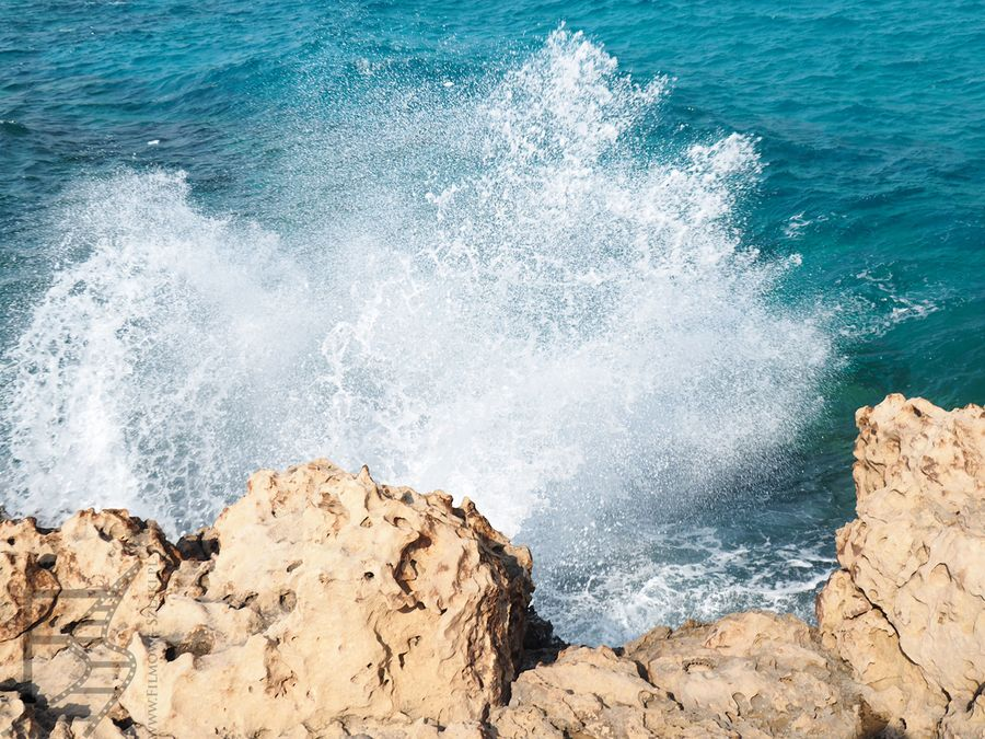 Błękitna Laguna na Cyprze