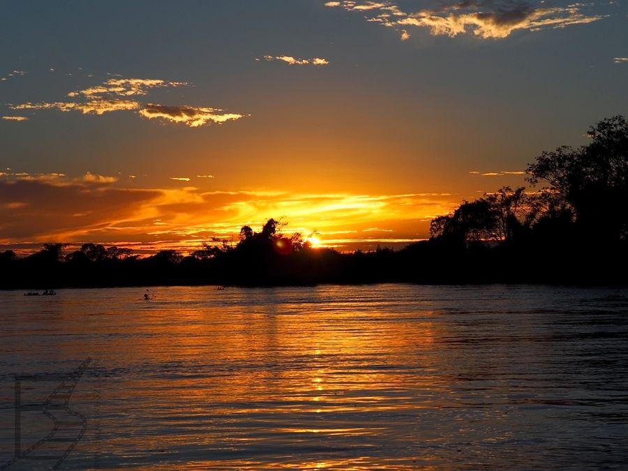 Rozlewiska Pantanalu o świcie