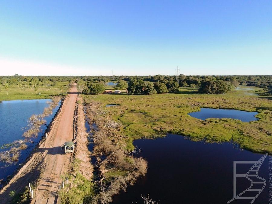 Pantanal z lotu ptaka