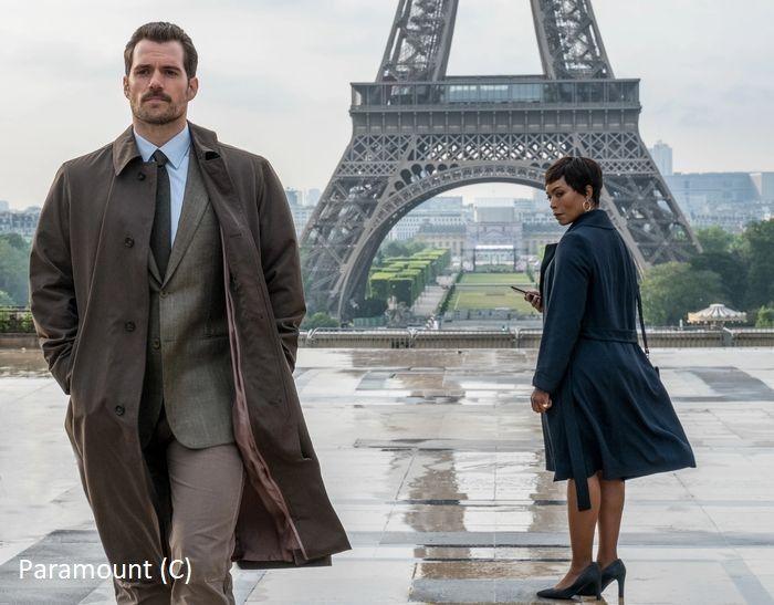 """""""Mission: Impossible – Fallout"""" i widok na wieżę Eiffle'a (i dalej Paryż)"""
