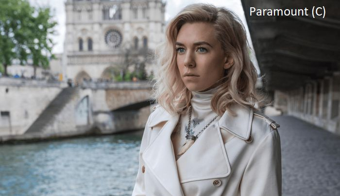 """Mission: Impossible – Fallout"", Biała Wdowa, Sekwana a w tle katedra Norte-Dam (Paryż, Francja)"