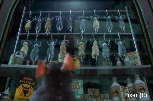 """""""Ratatuj"""" i sklep z pułapkami na szczury. Jest taki w Paryżu z bardzo podobną wystawą."""