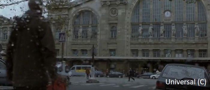 """Tożsamość Bourne'a"" i dworzec Gare du Nord"