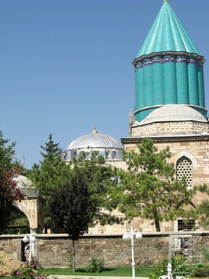 Mauzoleum Melvany (Konya, Turcja)