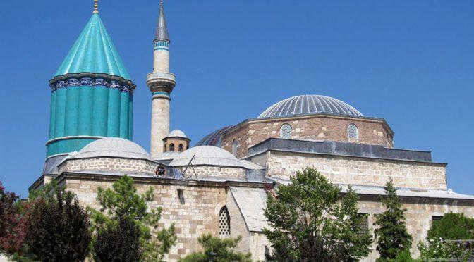 Konya, Wirujący Derwisze i mauzoleum Melvany