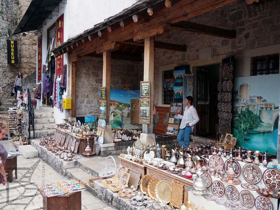 Turystyczna starówka (Mostar, Bośnia i Hercegowina)