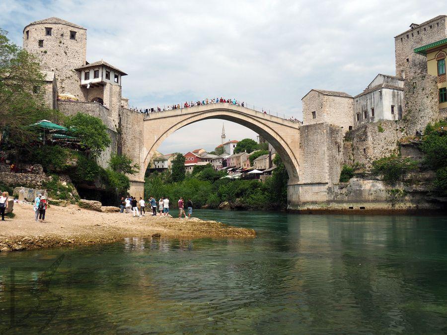 Stary Most z dołu
