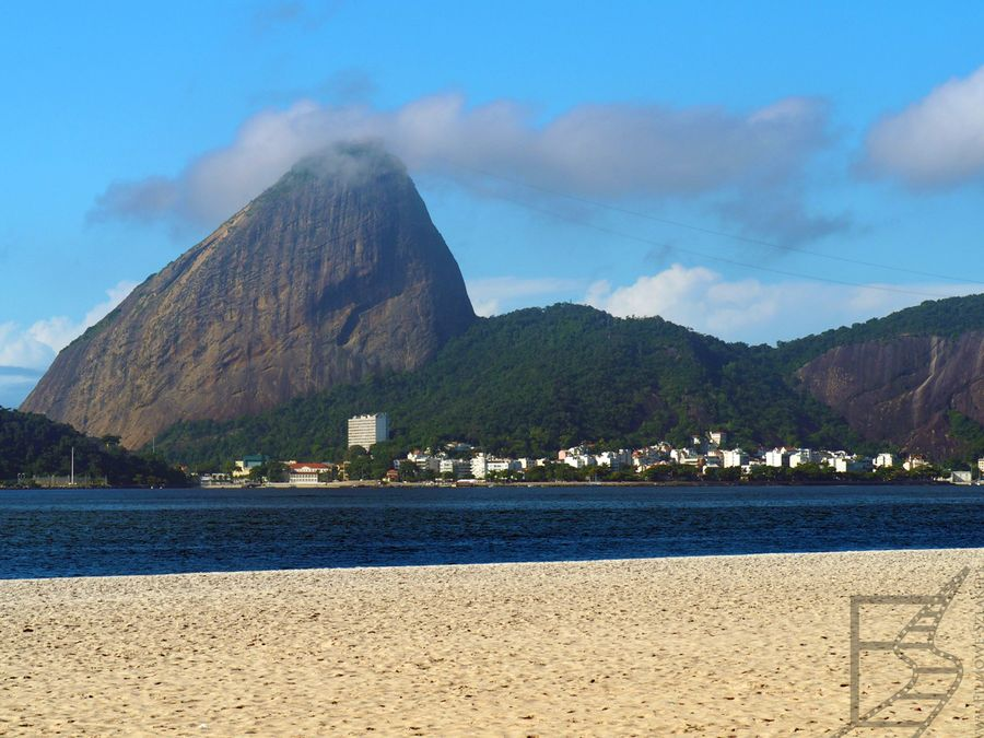 Rio, plaża i głowa Cukru