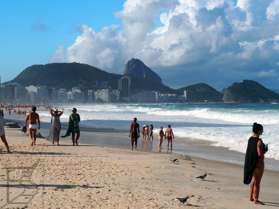 Plaża Copacabana (Rio De Janeiro)