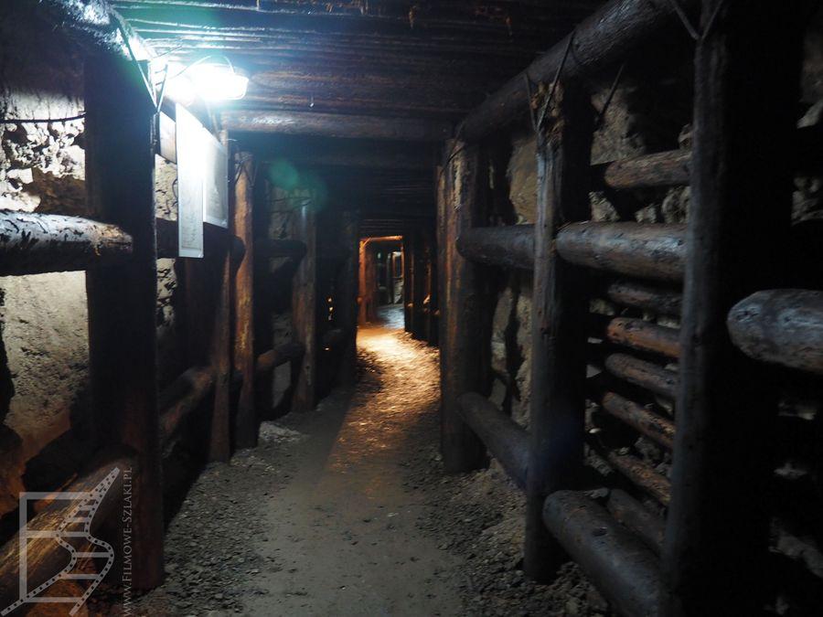 Korytarz w kopalni uranu