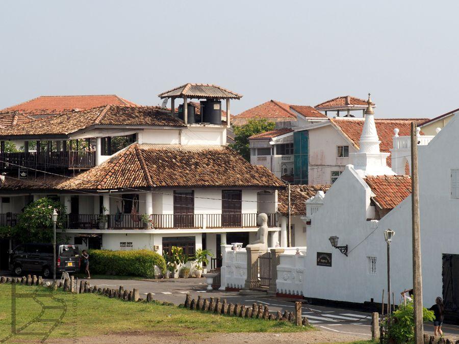 Zabytkowe centrum Galle