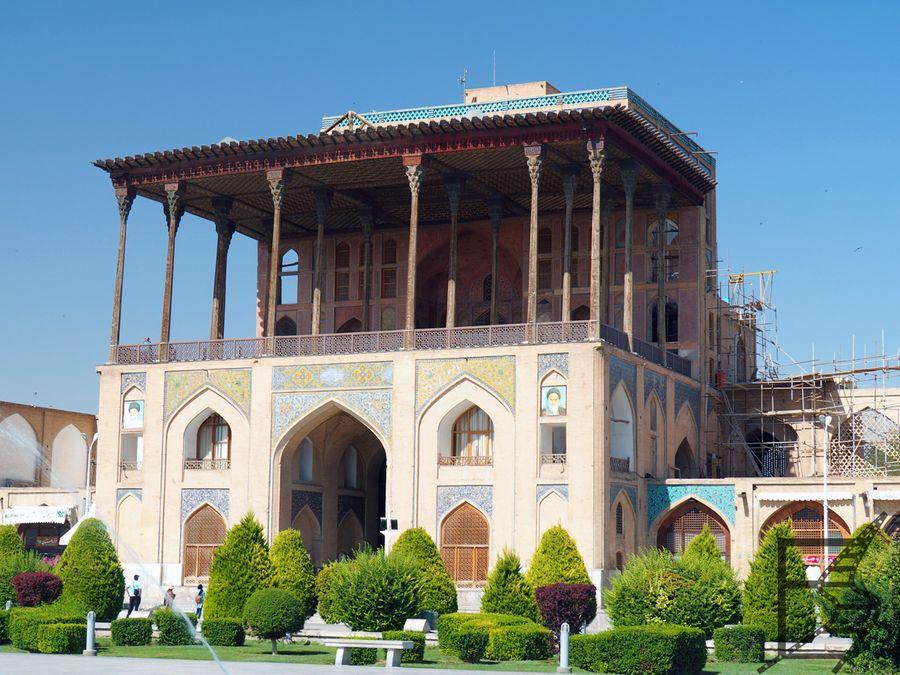 Pałac Ali Qapu (Esfahan)