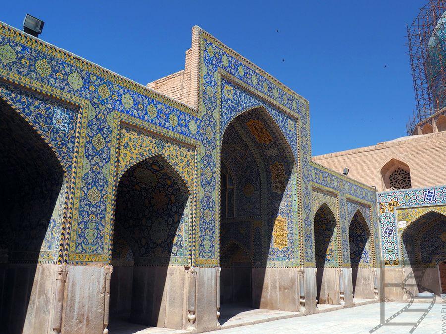 Dziedziniec meczetu Szacha / Imama