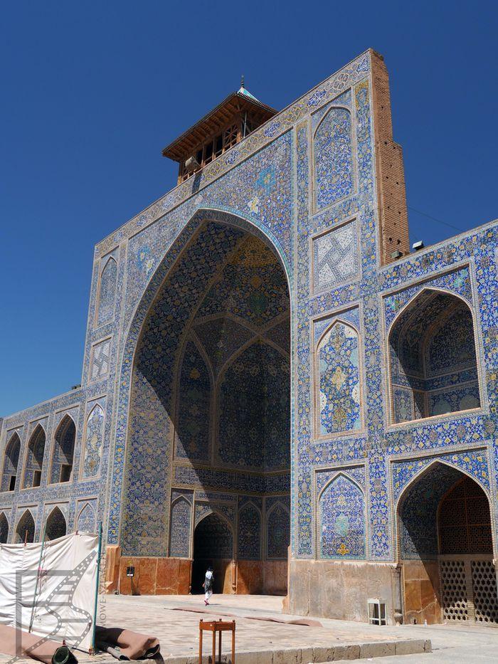Ejwan meczetu Szacha w Isfahanie