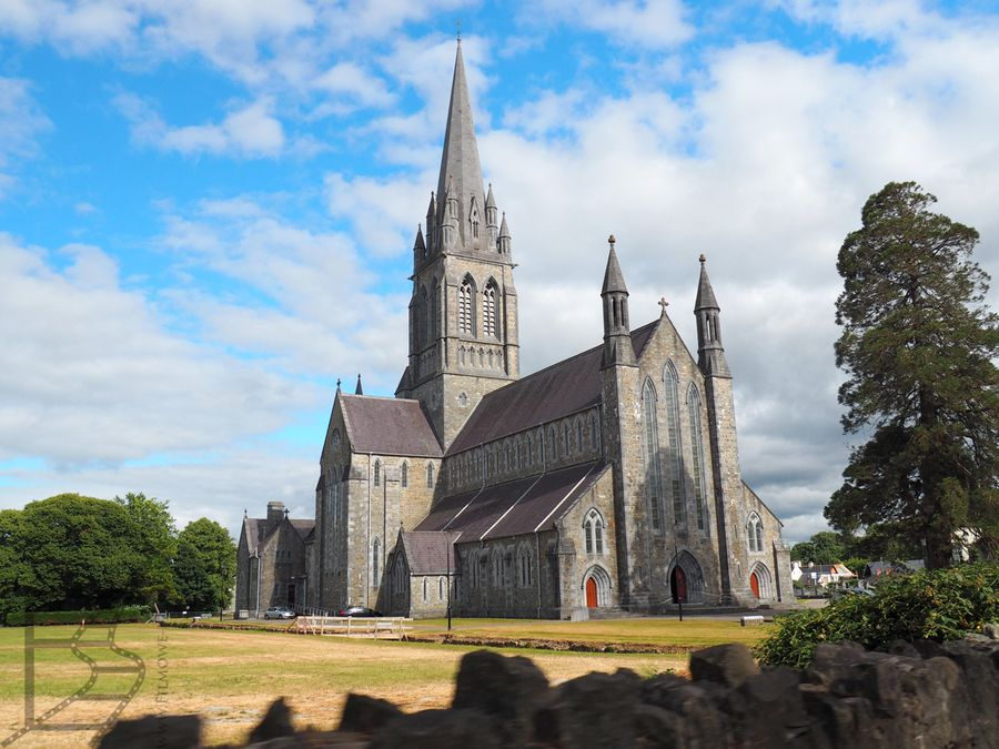 Piękna, gotycka katedra w Killarney
