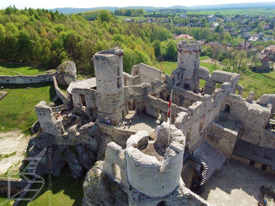 Zamek z góry