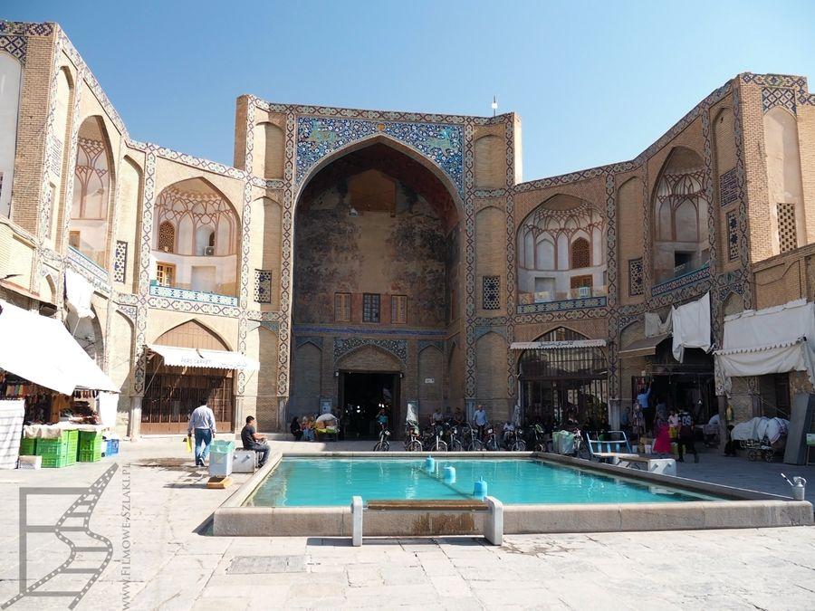 Brama Qeysarie, czyli wejście na bazar (Isfahan)