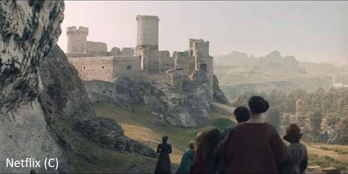 """""""Wiedźmin"""", czarodzieje zmierzają do Sodden, czyli zamku Ogrodzieniec"""