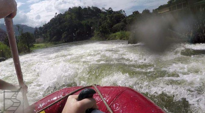 Kitulgala, ekscytujący rafting na rzece Kwai (Kelani)