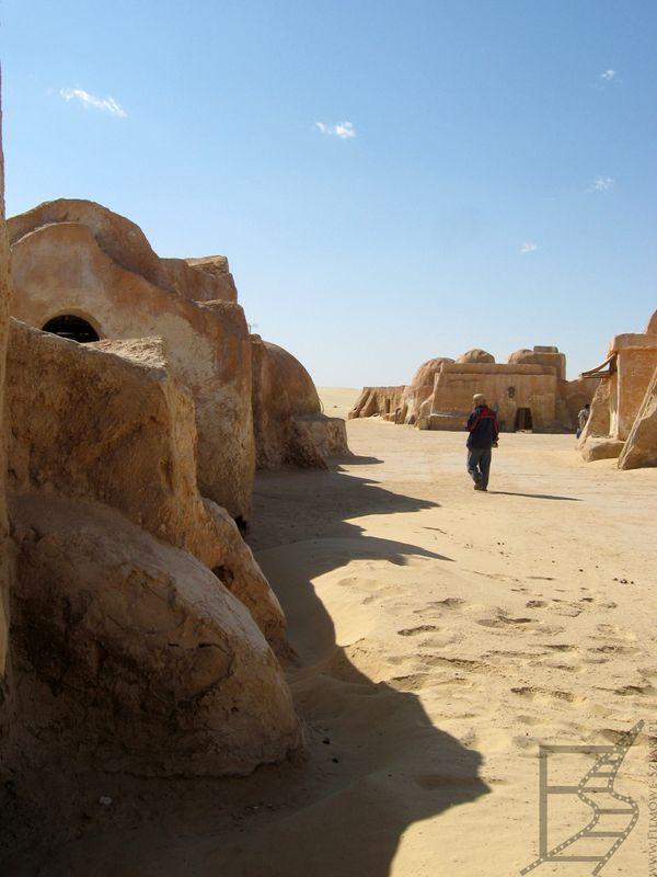 Plan filmowy - Mos Espa, czyli Szatt al-Gharsa (Tunezja)