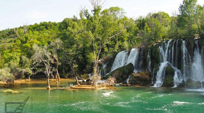 Kravica, przepiękny wodospad w Bośni