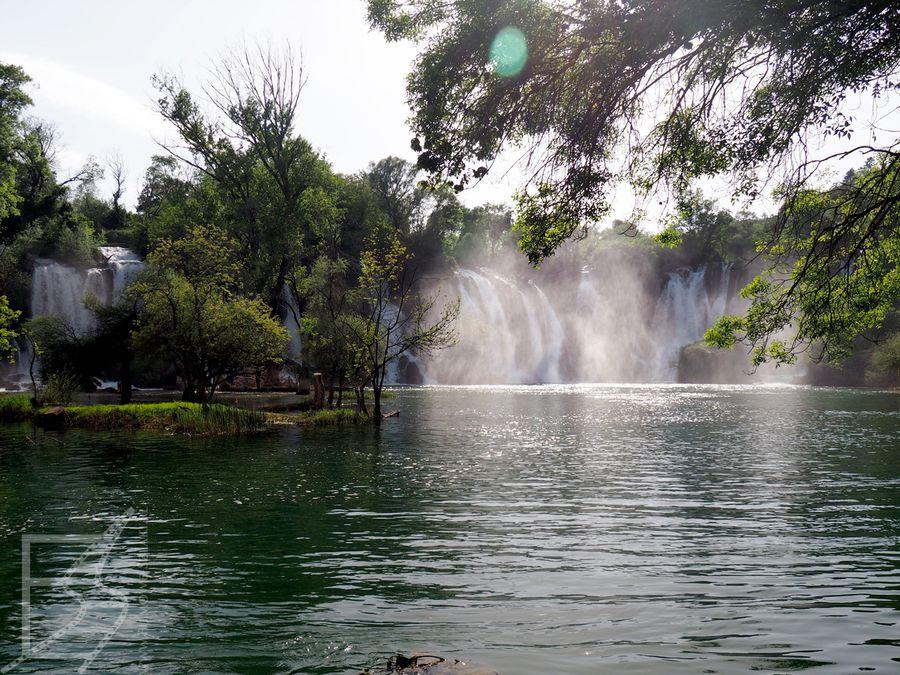 Jezioro przyciąga wielu turystów