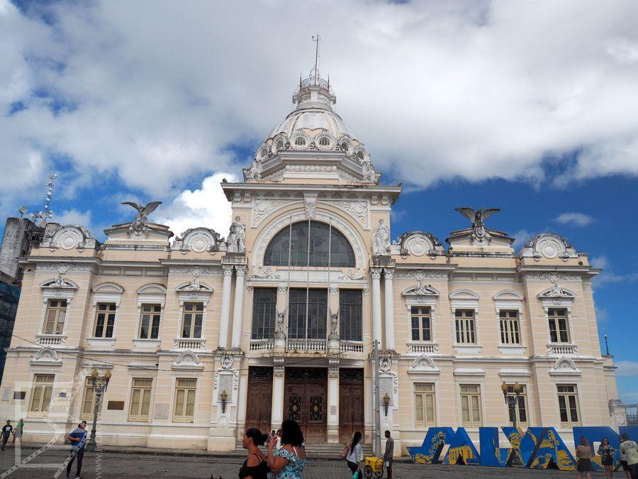 Palácio Rio Branco, siedziba Gubernatora stanu Bahia (Salvador)