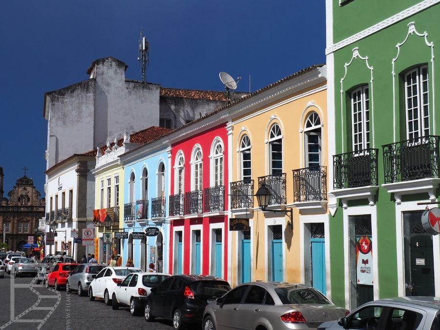 Salvador i śliczne, kolonialne centrum