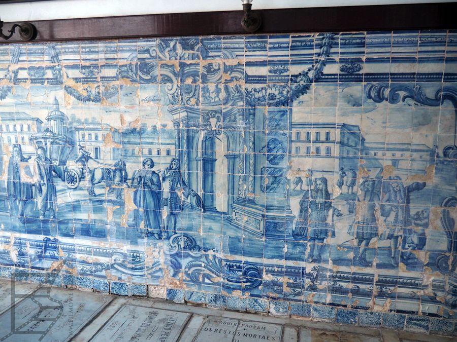 Azulejo, czyli typowe portugalskie kafle ozdobne w Brazylii